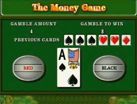 Игра на риск в The Money Game